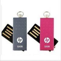 供应惠普HP原装足量 旋转迷你u盘 创意u盘OEM