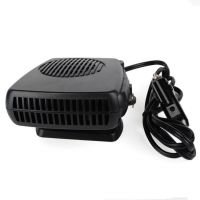 车载空调暖风机12V24V200W取暖器除雾除霜超静音汽车用品暖风机