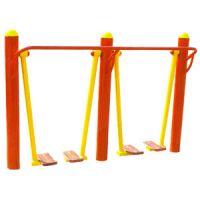 两联漫步机 户外健身路径器材 健身路径社区器材