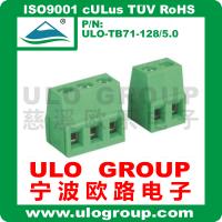 供应螺钉式接线端子 128V-5.0 厂家直销 宁波欧路电子 ULO