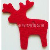 供应毛毡   毛毡挂件 毛毡圣诞雪花挂件