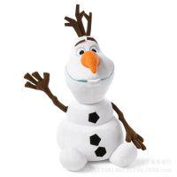 外贸原单正版迪士尼 冰雪奇缘 雪宝公仔毛绒玩具 冰雪大冒险