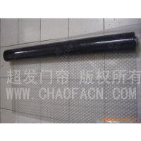 广州超发防静电透明PVC窗帘 黑色网格防静电帘 PVC防静电透明膜