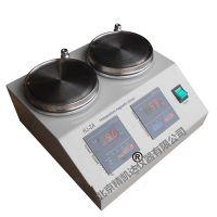 北京精凯达JK216664双工位双联磁力搅拌器 双头恒温磁力搅拌器 多头不锈钢加热盘 HJ-2A