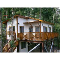 领秀木屋专业设计定制现代高档轻型木屋别墅