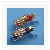 高品质纯铜水晶接线柱音箱接线柱功放接线柱全铜音响接线端子小号