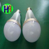 厂家批发LED9W球泡灯车铝外壳9W球泡正品直销