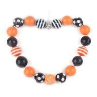 外贸万圣节儿童手工串珠项链 速卖通爆款饰品 bubblegum necklace