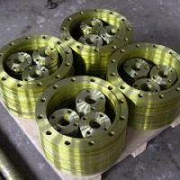 沧州法兰盖厂家供应异型16KG合金钢盲板法兰尺寸标准