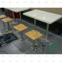 水晶白大理石餐桌 厂家生产餐厅餐桌椅 两人位餐桌批发深圳运达来
