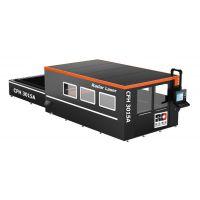 1000W光纤激光切割机-全包围带交换式工作台
