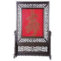 家装优雅饰物 云锦双面屏风- 一件起批 可定做 南京实力生产