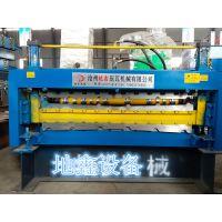 地鑫彩钢机械设备840900型双层压瓦机组 双层彩钢瓦设备