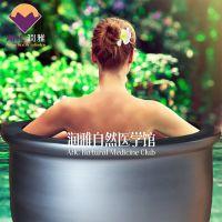 浴场澡缸 陶瓷泡澡缸润雅泡澡缸浴桶 青瓦水台澡缸厂家
