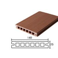精品木塑生态木140*25户外地板、步栈道