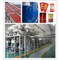 专业供应番茄酱加工生产线