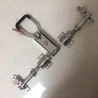 海鲜车门锁 不锈钢集装箱门锁价格 4分厢货车盒锁