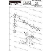 日本牧田 DA3000R角向电钻 原装转子定子 开关
