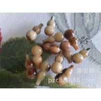 朝阳工艺;天然非洲白牦牛角葫芦 挂件 饰品30mm*15mm