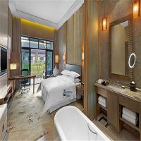 精品酒店客房家具定做工程 高档连锁酒店客房全套家具定做与批发