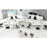 2015年爆款现代简约职员办公桌4人位厂家供应