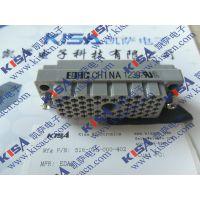 341-086-520-201 EDAC 标准卡缘连接器 86P