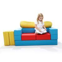 多功能沙发桌椅书桌坐凳儿童玩具亲子早教幼儿园床垫教具
