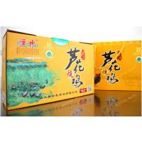 山东特产 正宗汶上芦花鸡 熟食小吃 600g礼品盒