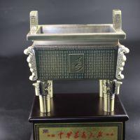 厂家供应工艺品会议礼品纪念品南岳衡山古铜万寿大鼎摆件