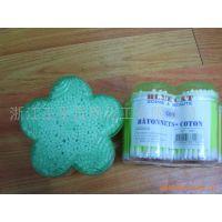 批发棉签梅花(图),美容材料及用具,棉签厂家批发,出口棉签