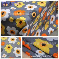 田园风格花朵图案帆布,桌布/抱枕/窗帘布料,厂价直销/现货供应