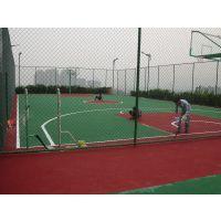 重庆办公休闲健身篮球场塑胶HQ-33551型塑胶颗粒地面材料,厚度6mm,东大胶水专业粘接,现场加工