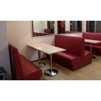 快餐桌椅、食堂餐桌椅、餐厅卡座沙发定制、酒店饭店家具生产订做-简约现代-天津绿鼎家具厂