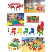 供应全塑儿童桌 幼儿桌椅 幼儿园桌椅 诚信企业