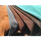 Recycled Eco Friendly Leather Fabric With Warp Knitting Fabric Backing