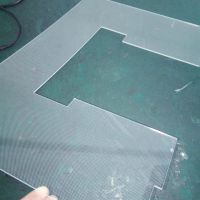 中为异形导光板 LED激光导光板