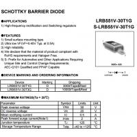 LRC肖特基LRB551V-30T1G RB551V-30T1G