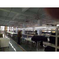 厂家直销服装厂动力桥架母线槽灯架 PVC塑钢母线槽 塑钢母线槽 线槽桥架 移动电轨 服装厂照