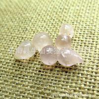 天然粉水晶葫芦挂坠 吊坠 旺桃花 避小人 天然水晶批发