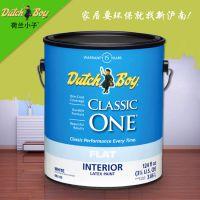 荷兰小子室内儿童房内墙进口乳胶漆油漆涂料环保墙面漆/15年质保