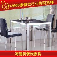 热卖 人造大理石火锅桌椅组合 高品质火锅店餐厅桌子 厂家定做