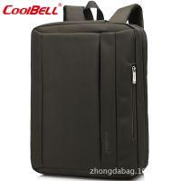 现货批发多功能笔记本包15.6寸电脑包单肩手提三用商务休闲包