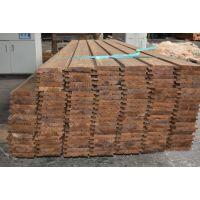 花旗松深度碳化木定制 防腐木地板 护墙吊顶碳烧板