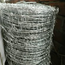 草原刺绳 热镀锌铁蒺藜 成都刀片刺网