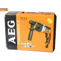德国 AEG26mm 四功能电锤BH26E 电镐电钻带工具箱