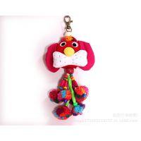 泰国进口布艺小动物钥匙包挂(图案混配) 个性可爱 厂家批发
