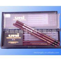 UNI三菱铅笔|耐磨测试专用铅笔9H-6B|日本三菱硬度测试铅笔 9H-6B
