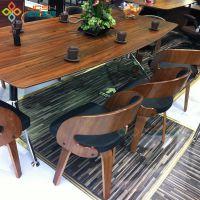 工厂定做 北欧宜家茶餐厅餐桌椅 时尚休闲奶茶店成套餐桌椅组合