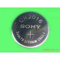 原装进口Sony索尼CR2016一次性纽扣电池