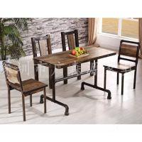 厂家直销 餐厅家具 餐椅餐桌 铁艺家具